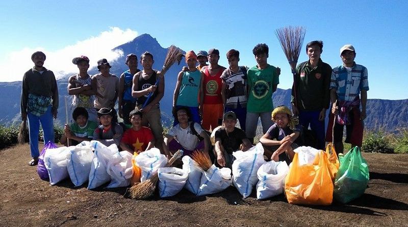 Mount Rinjani environment care