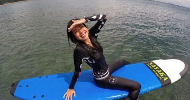 Beginner surfing class private